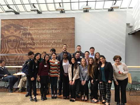 Starbucks Mba Internships by Cisb Visits Starbucks Headquarters Foster