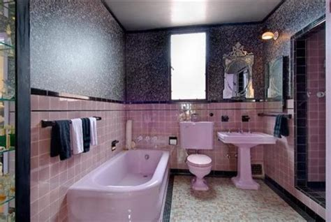 Black And Pink Bathroom Ideas Pink Silver Black Bathroom