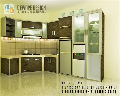 kitchen set  malang dewape design kitchen set  malang
