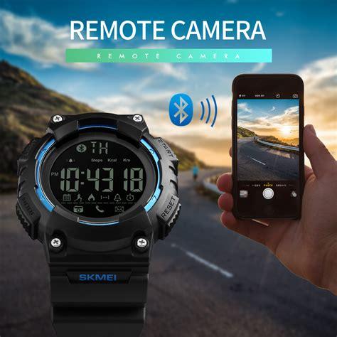Jam Tangan Skmei Olahraga Smartwatch Bluetooth Water Resistant 50m skmei jam tangan sporty smartwatch bluetooth 1256 blue