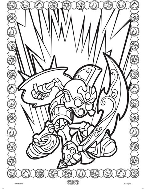 crayola coloring pages skylanders 1000 images about patterns printables fonts on