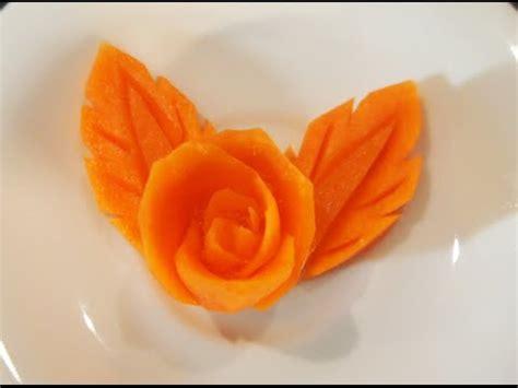 cara membuat makanan ringan dari wortel full download garnish cara membuat hiasan makanan dari