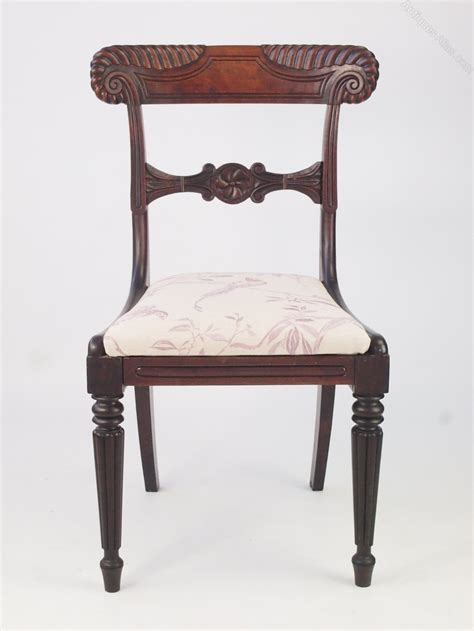 chair with side desk william iv rosewood side chair or desk chair antiques atlas