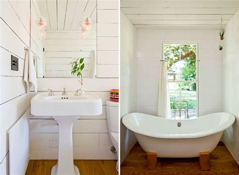 10 Favorites White Bathrooms From The Remodelista Tiny House Helgerson