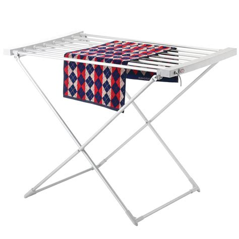 indoor clothes drying rack heated airer folding small dryer rack indoor laundry clothes drying rack ebay