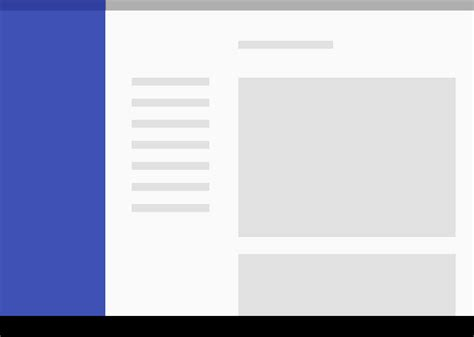 android pattern whitespace structure layout material design