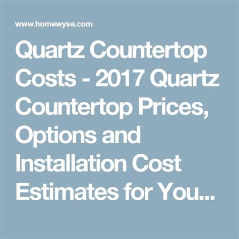 How Much Does Quartz Countertops Cost by Best 25 Quartz Countertops Cost Ideas On
