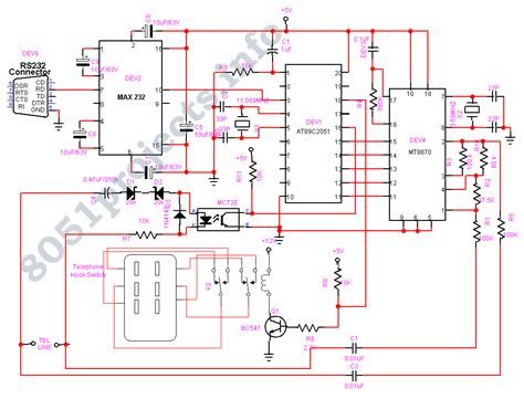 microcontroller schematic diagram gt microcontrollers gt various circuits gt interactive voice