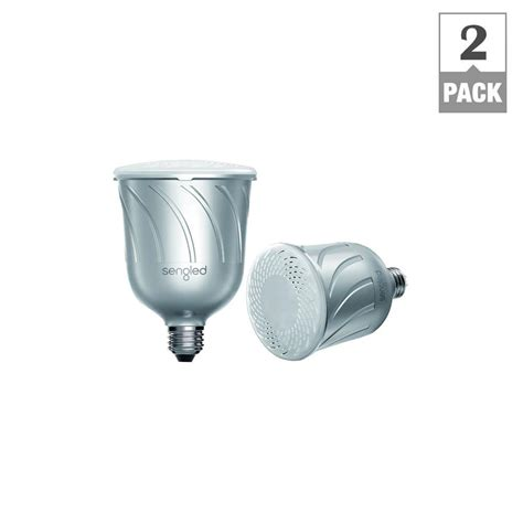 led light bulbs with wifi speakers sengled pulse dimmable br30 led light with built in