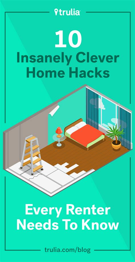 home hacks 10 clever diy hacks every renter needs to know life at