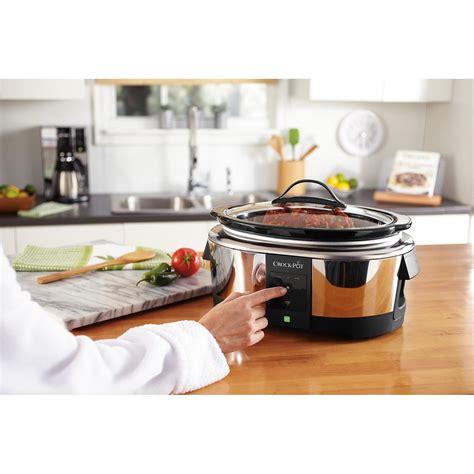 wifi cooker 6 quart smart wifi cellphone programmable slow cooker