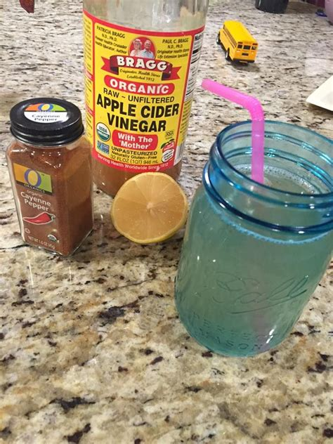 Detox With Cayenne Pepper And Apple Cider Vinegar by Best 10 Cayenne Pepper Cleanse Ideas On Lemon