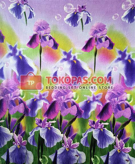 Karpet Orchid selimut michiki dewasa kembang halus lembut