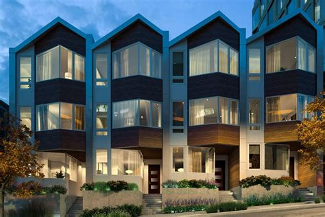 Floor Plans For Building A House by The Pacific Prepares To Sell Its Very High End Row Houses