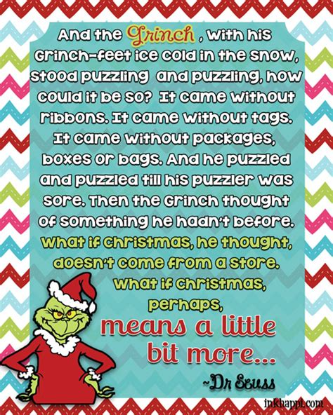 printable grinch quotes quotes by the grinch quotesgram