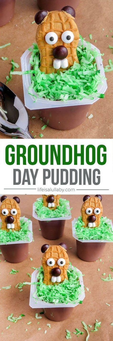 groundhog day expression groundhog day snack idea recipe nutter butter cookies