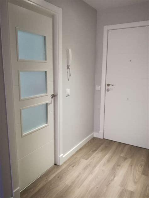 instalacion de tarima flotante puertas lacadas  armarios