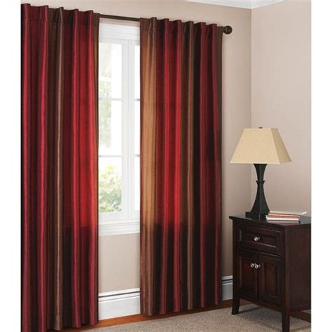 brown and red curtain panels 8 best images about silk taffeta drapes on pinterest