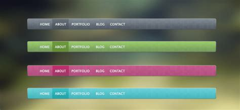 css layout navigation bar 30 brand new pixelsdaily psd css design freebies the
