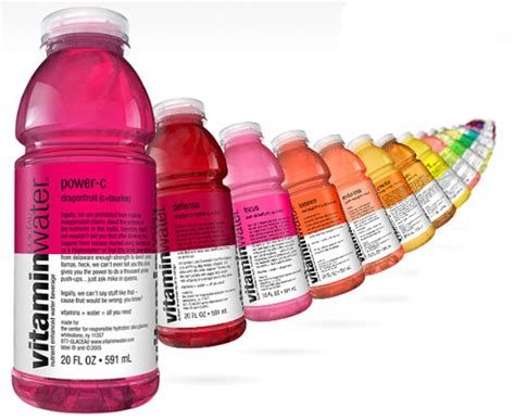 Vitamin Watter think vitamin water is healthy think again