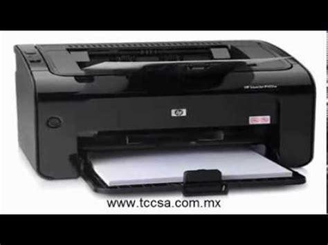 reset impresora hp laserjet pro p1102w impresora laser hp p1102w wifi youtube