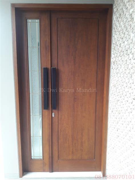Daun Pintu Multiplek Lapis Hpl pintu utama pk dwi karya mandiri