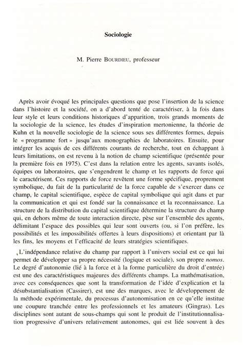 Resume D Un Livre by Bourdieu Un Hommage R 233 Sum 233 Et Livre