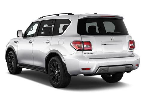Image 2017 Nissan Armada 4x4 Platinum Angular Rear