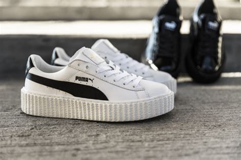 s shoes sneakers creeper x fenty by rihanna quot white black quot 364462 01 best shoes