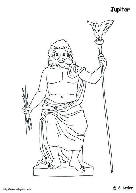imagenes de el dios zeus para dibujar dibujo para colorear j 250 piter img 4181