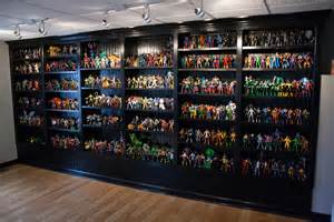 Toy Boxes With Bookshelves - action figure collection 533 backdrop of the man cave someday pinterest