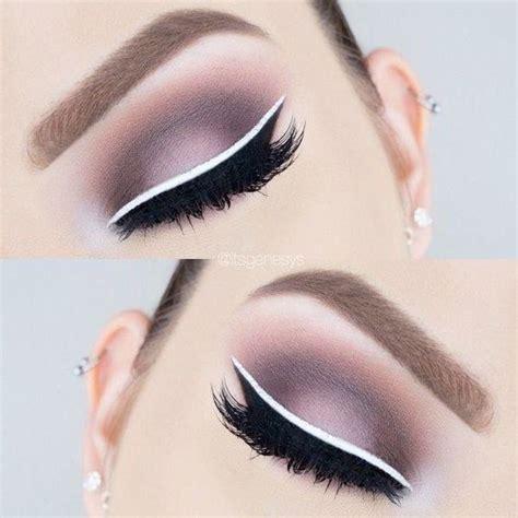Nyx White Eyeliner las 25 mejores ideas sobre maquillaje delineador blanco en