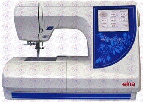 Mesin Bordir Elna 820 buana industrial sewing machine