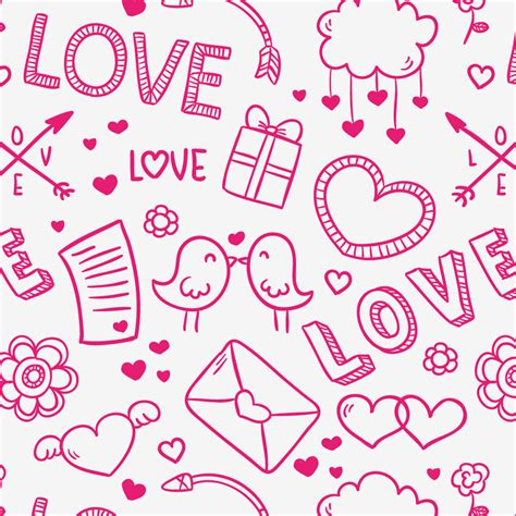 valentines day patterns freebie 15 s day patterns hongkiat