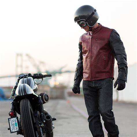 roland sands design quest jacket roland sands design ronin oxblood black leather jacket