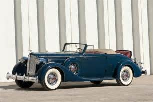 1935 packard 1207 v12 convertible coupe front 3 4 170170