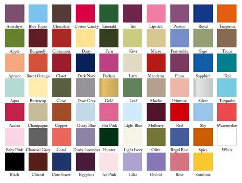 29 best color swatches for weddings images on