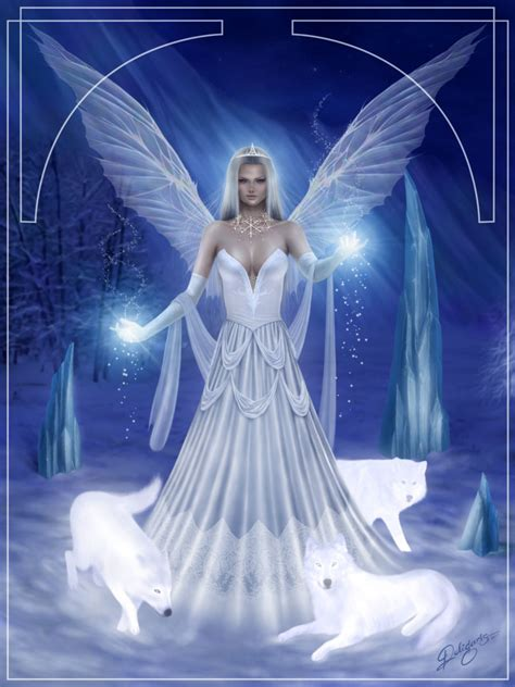 fairytale snow snow fairy by deligaris on deviantart