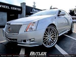 Cadillac Cts 22 Inch Rims Butler Tire Shows A Cadillac Cts Coupe Doing Donuts