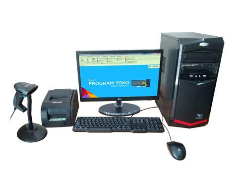 Komputer Kasir Mesin Kasir perangkat komputer kasir paket b kios barcode