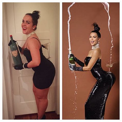 kim kardashian break  internet halloween costume diy