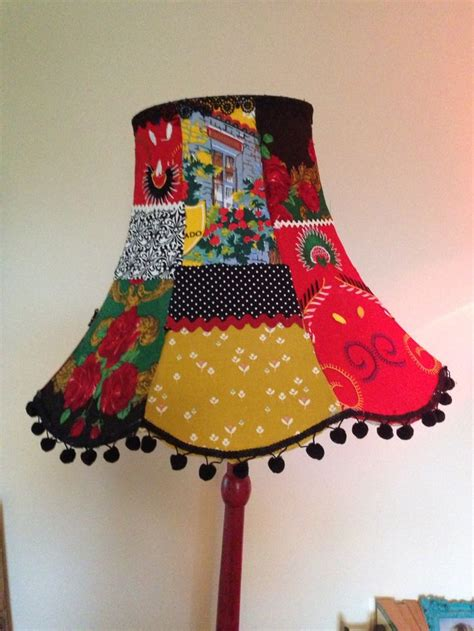Patchwork Lshade - handmade oddity patchwork lshade prettyshadey