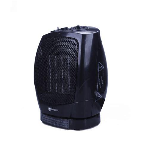 homegear portable oscillating ceramic tabletopfloor heater  thermostat