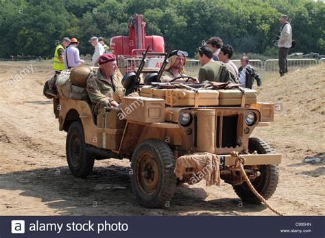 lrdg jeep a war two desert jeep as used by the sas lrdg at
