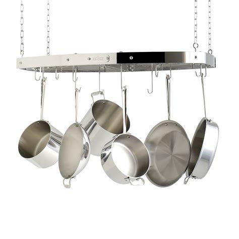 All Clad Hanging Pot Rack all clad 36 quot hanging pot rack bloomingdale s
