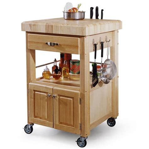 small rolling kitchen island butcher block table a little inspiration pinterest