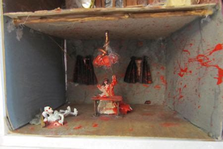 printable living room diorama make a trick or treat bag with a diorama in it