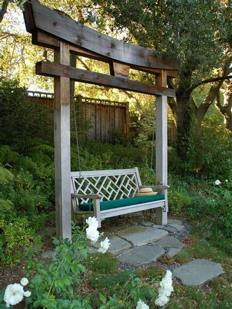 yard swing 32 creative porch and backyard swing ideas home design