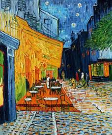 Cheap Home Decor Online Store 2017 cheap oil painting cafe terrace at night by artist