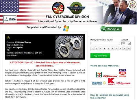 Remove Fbi Cybercrime Division Virus 300 Scam Step By Step | remove fbi cybercrime division virus 300 scam step by step